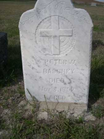 BASCHKY, PETER W. - Dawes County, Nebraska | PETER W. BASCHKY - Nebraska Gravestone Photos