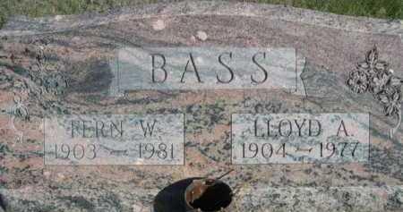 BASS, LLOYD A. - Dawes County, Nebraska | LLOYD A. BASS - Nebraska Gravestone Photos