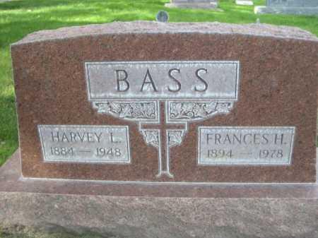 BASS, FRANCES H. - Dawes County, Nebraska | FRANCES H. BASS - Nebraska Gravestone Photos