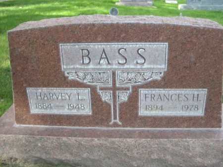 BASS, HARVEY L. - Dawes County, Nebraska | HARVEY L. BASS - Nebraska Gravestone Photos