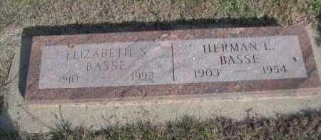 BASSE, HERMAN L. - Dawes County, Nebraska | HERMAN L. BASSE - Nebraska Gravestone Photos