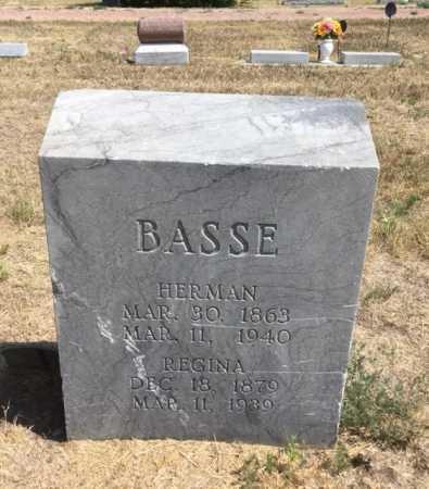 BASSE, HERMAN - Dawes County, Nebraska | HERMAN BASSE - Nebraska Gravestone Photos
