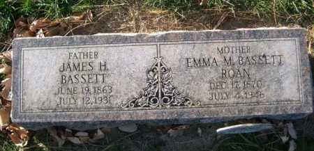 BASSETT, JAMES H. - Dawes County, Nebraska   JAMES H. BASSETT - Nebraska Gravestone Photos