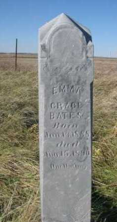 BATES, EMMA GRACE - Dawes County, Nebraska | EMMA GRACE BATES - Nebraska Gravestone Photos