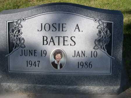 BATES, JOSIE A. - Dawes County, Nebraska   JOSIE A. BATES - Nebraska Gravestone Photos