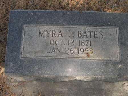 BATES, MYRA L. - Dawes County, Nebraska | MYRA L. BATES - Nebraska Gravestone Photos