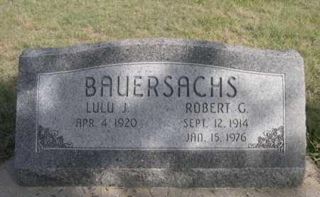 BAUERSACHS, ROBERT G. - Dawes County, Nebraska | ROBERT G. BAUERSACHS - Nebraska Gravestone Photos