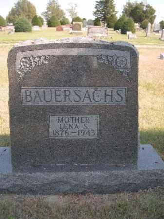 BAUERSACHS, LENA S. - Dawes County, Nebraska | LENA S. BAUERSACHS - Nebraska Gravestone Photos