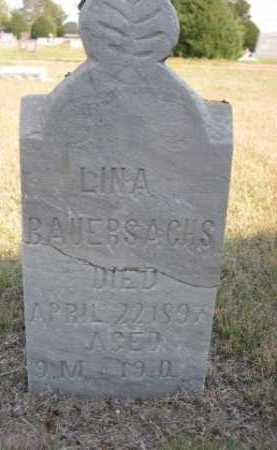 BAUERSACHS, LINA - Dawes County, Nebraska | LINA BAUERSACHS - Nebraska Gravestone Photos