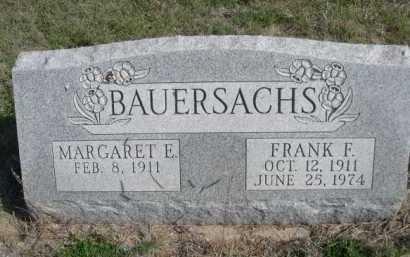 BAUERSACHS, MARGARET E. - Dawes County, Nebraska   MARGARET E. BAUERSACHS - Nebraska Gravestone Photos