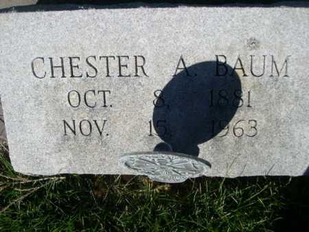 BAUM, CHESTER A. - Dawes County, Nebraska | CHESTER A. BAUM - Nebraska Gravestone Photos