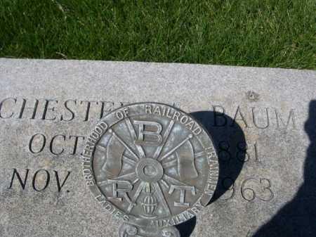BAUM, CHESTER - Dawes County, Nebraska   CHESTER BAUM - Nebraska Gravestone Photos