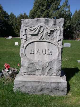 BAUM, FAMILY - Dawes County, Nebraska | FAMILY BAUM - Nebraska Gravestone Photos