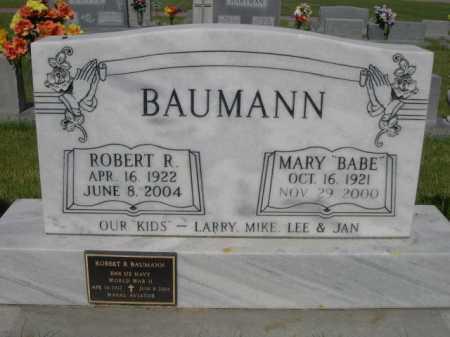 "BAUMANN, MARY ""BABE"" - Dawes County, Nebraska | MARY ""BABE"" BAUMANN - Nebraska Gravestone Photos"