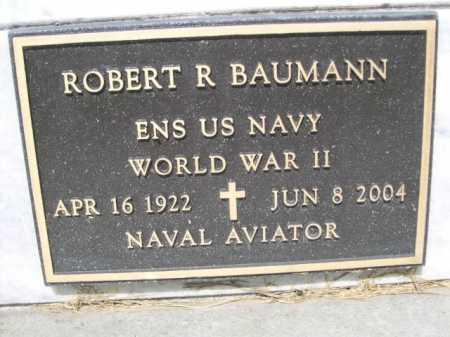 BAUMANN, ROBERT R. - Dawes County, Nebraska | ROBERT R. BAUMANN - Nebraska Gravestone Photos