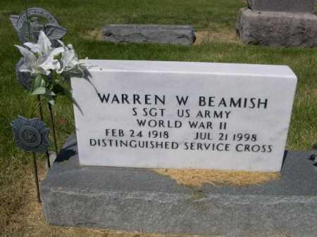BEAMISH, WARREN W. - Dawes County, Nebraska | WARREN W. BEAMISH - Nebraska Gravestone Photos