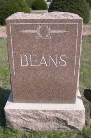 BEANS, FAMILY - Dawes County, Nebraska | FAMILY BEANS - Nebraska Gravestone Photos