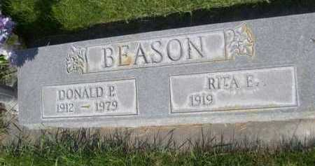 BEASON, RITA E. - Dawes County, Nebraska | RITA E. BEASON - Nebraska Gravestone Photos