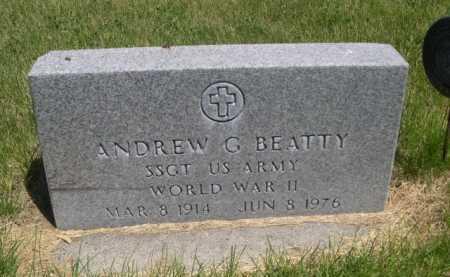 BEATTY, ANDREW G. - Dawes County, Nebraska | ANDREW G. BEATTY - Nebraska Gravestone Photos