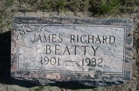 BEATTY, JAMES RICHARD - Dawes County, Nebraska | JAMES RICHARD BEATTY - Nebraska Gravestone Photos