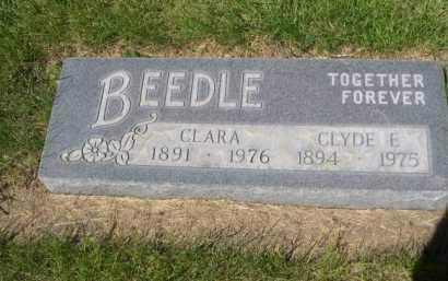 BEEDLE, CLARA - Dawes County, Nebraska | CLARA BEEDLE - Nebraska Gravestone Photos