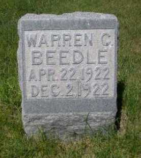 BEEDLE, WARREN C. - Dawes County, Nebraska | WARREN C. BEEDLE - Nebraska Gravestone Photos