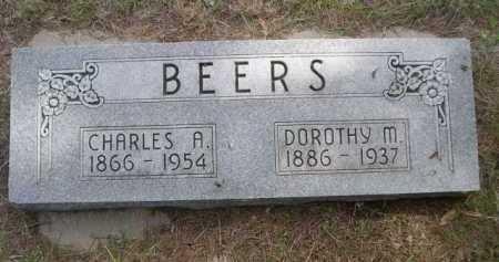 BEERS, CHARLES A. - Dawes County, Nebraska   CHARLES A. BEERS - Nebraska Gravestone Photos