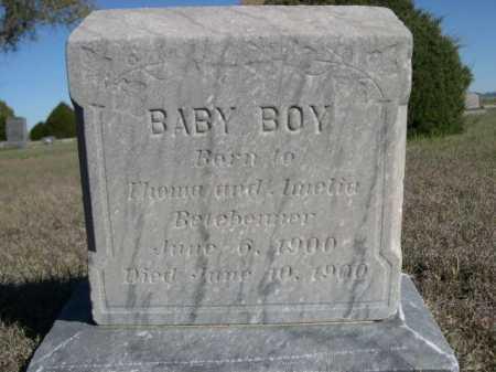 BELEBEMER, BABY BOY - Dawes County, Nebraska | BABY BOY BELEBEMER - Nebraska Gravestone Photos