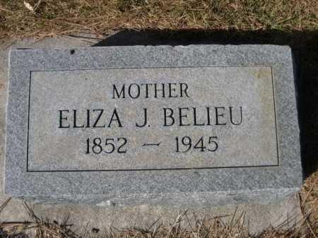 BELIEU, ELIZA J. - Dawes County, Nebraska | ELIZA J. BELIEU - Nebraska Gravestone Photos