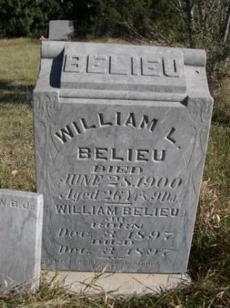 BELIEU, WILLIAM L. - Dawes County, Nebraska   WILLIAM L. BELIEU - Nebraska Gravestone Photos