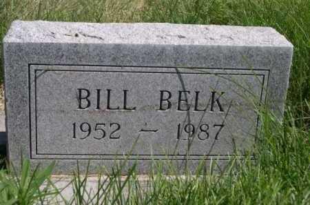 BELK, BILL - Dawes County, Nebraska   BILL BELK - Nebraska Gravestone Photos