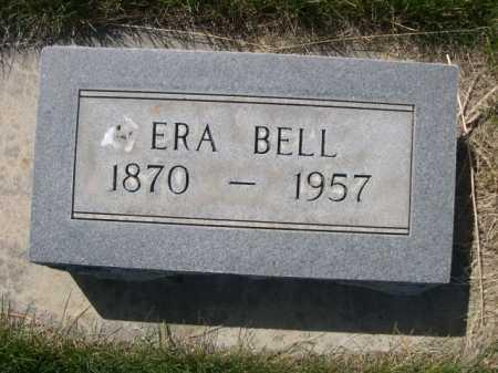 BELL, ERA - Dawes County, Nebraska | ERA BELL - Nebraska Gravestone Photos