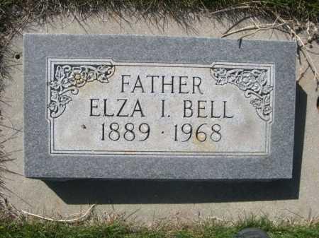 BELL, ELZA I. - Dawes County, Nebraska   ELZA I. BELL - Nebraska Gravestone Photos