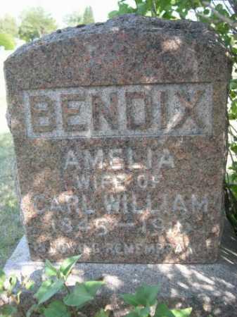BENDIX, AMELIA - Dawes County, Nebraska   AMELIA BENDIX - Nebraska Gravestone Photos