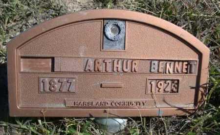 BENNET, ARTHUR - Dawes County, Nebraska   ARTHUR BENNET - Nebraska Gravestone Photos