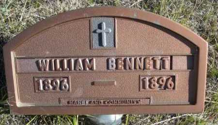 BENNETT, WILLIAM - Dawes County, Nebraska | WILLIAM BENNETT - Nebraska Gravestone Photos