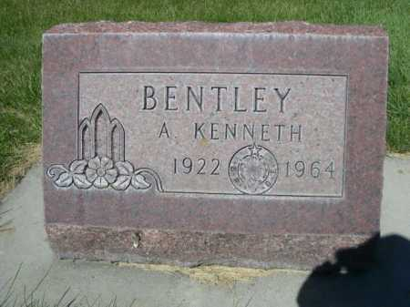 BENTLEY, A. KENNETH - Dawes County, Nebraska | A. KENNETH BENTLEY - Nebraska Gravestone Photos