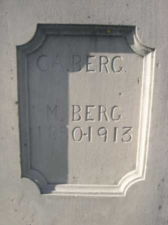 BERG, C.A. - Dawes County, Nebraska | C.A. BERG - Nebraska Gravestone Photos