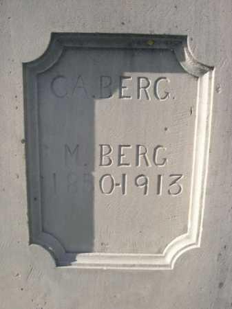BERG, M. - Dawes County, Nebraska | M. BERG - Nebraska Gravestone Photos