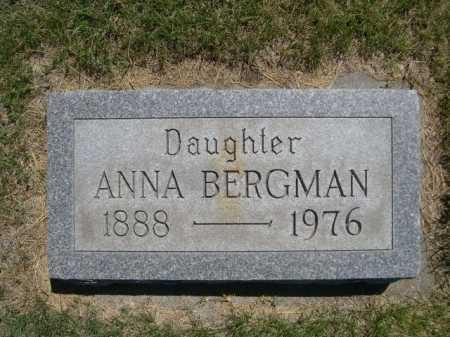BERGMAN, ANNA - Dawes County, Nebraska | ANNA BERGMAN - Nebraska Gravestone Photos