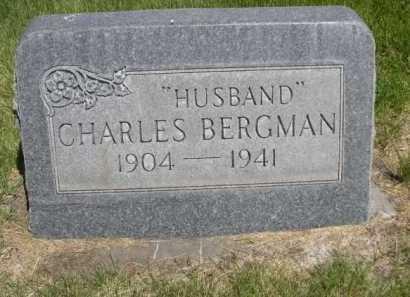 BERGMAN, CHARLES - Dawes County, Nebraska | CHARLES BERGMAN - Nebraska Gravestone Photos