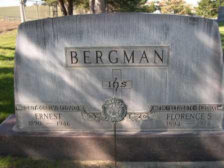 BERGMAN, ERNEST - Dawes County, Nebraska | ERNEST BERGMAN - Nebraska Gravestone Photos