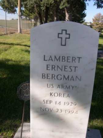 BERGMAN, LAMBERT ERNEST - Dawes County, Nebraska | LAMBERT ERNEST BERGMAN - Nebraska Gravestone Photos