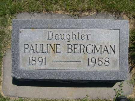 BERGMAN, PAULINE - Dawes County, Nebraska | PAULINE BERGMAN - Nebraska Gravestone Photos