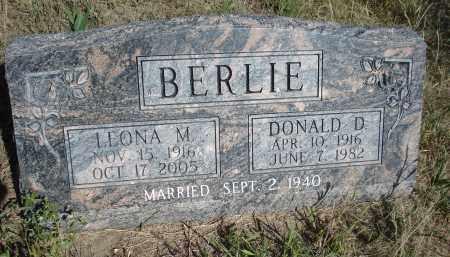BERLIE, LEONA M. - Dawes County, Nebraska | LEONA M. BERLIE - Nebraska Gravestone Photos