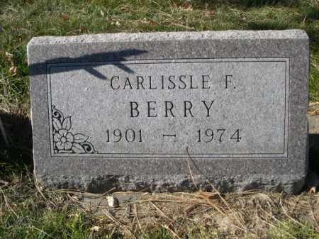 BERRY, CARLISSLE F. - Dawes County, Nebraska | CARLISSLE F. BERRY - Nebraska Gravestone Photos