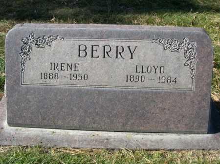 BERRY, LLOYD - Dawes County, Nebraska | LLOYD BERRY - Nebraska Gravestone Photos