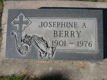 BERRY, JOSEPHINE A. - Dawes County, Nebraska | JOSEPHINE A. BERRY - Nebraska Gravestone Photos