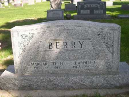 BERRY, MARGARETTE H. - Dawes County, Nebraska | MARGARETTE H. BERRY - Nebraska Gravestone Photos