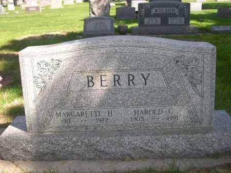 BERRY, HAROLD C. - Dawes County, Nebraska | HAROLD C. BERRY - Nebraska Gravestone Photos